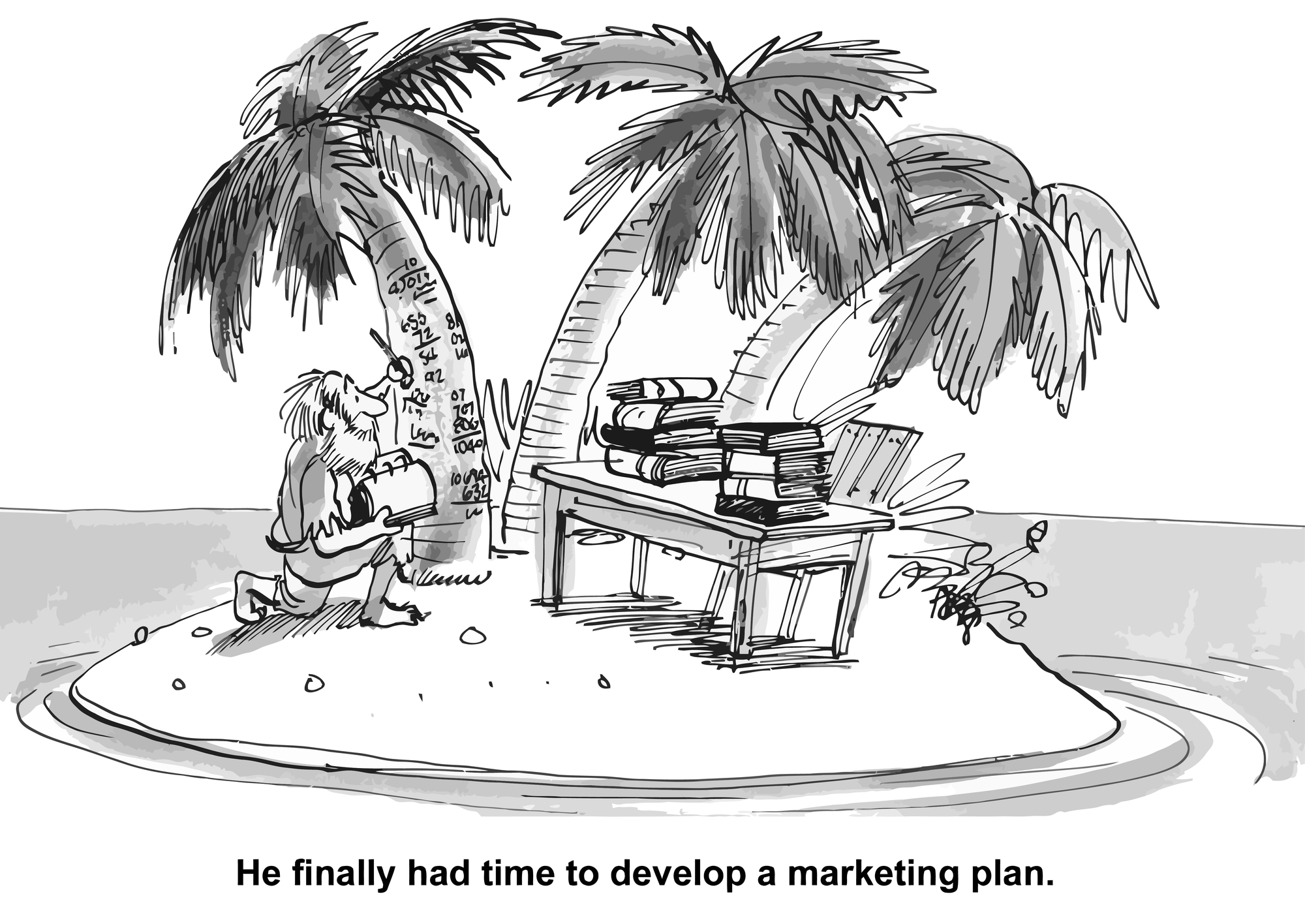 Time for a marketing plan